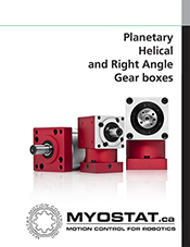 Planetary Gearboxes | Catalogues | Myostat Motion Control
